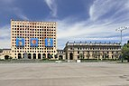 2014 Suchum, Były budynek Rady Ministrów Radzieckiej Abchazji (08).jpg