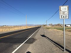 2015-04-02 17 15 22 View east from the west end of Nevada State Route 116 (Stillwater Road) in Churchill County, Nevada.JPG