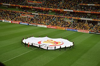 AFC Asian Cup - Image: 2015 AFC Asian Cup opening match Australia Kuwait, 9 January 2015 (2)