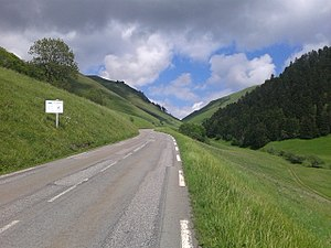 Col de Peyresourde - Image: 2015 Peyresourde last two kilometers from Armenteule