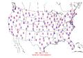 2016-01-25 Max-min Temperature Map NOAA.png