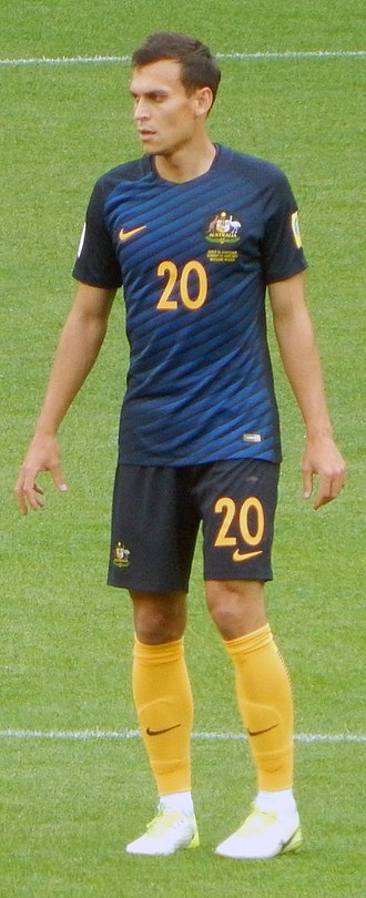 Trent Sainsbury - Trent playing for Australia at the 2017 Confederations Cup