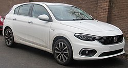 2017 Fiat Tipo Lounge 1.4 Front.jpg