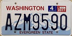 Vehicle registration plates of Washington (state) - Wikipedia