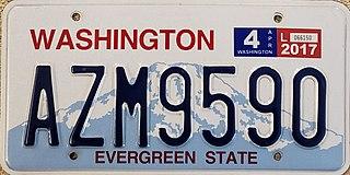 Vehicle registration plates of Washington (state) Washington vehicle license plates