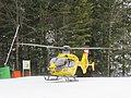 2018-01-01 (183) ÖAMTC Christophorus 14 Airbus H135 OE-XEK in alpine operation during departure in Annaberg, Lower Austria.jpg