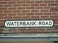 2018-04-23 Sign, Waterbank road, Sheringham.JPG