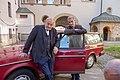 2018-10-15 Lansink und Schafmeister Set ZDF-Serie Wilsberg in Bielefeld 0586.jpg
