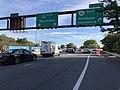 2018-10-19 16 03 05 View east along Interstate 66 (Custis Memorial Parkway) at Exit 75 (Virginia State Route 110 SOUTH, Pentagon, Alexandria) in Arlington County, Virginia.jpg