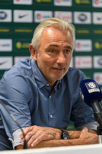 20180601 FIFA Friendly Match Czech Republic vs. Australia Bert van Marwijk 850 0531.jpg