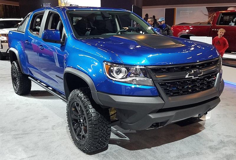 File:2020 Chevrolet Colorado (4 portes) au SIAM 2020.jpg