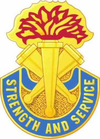 Distinctive unit insignia - Image: 21st Repl Bn crest