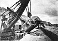 227b-Steam Shovel Handling a large boulder.jpg
