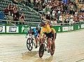 231000 - Cycling track Darren Harry Paul Clohessy win gold - 3b - 2000 Sydney race photo.jpg