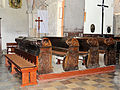 250513 Benches in the church of St. Florian in Koprzywnica - 01.jpg