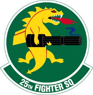 25th Fighter Squadron - 25th Fighter Squadron Patch