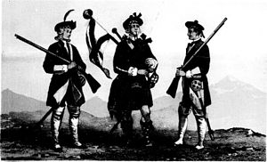 26th (Cameronian) Regiment of Foot - Uniform of the regiment in 1713
