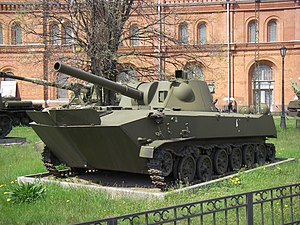 7th Guards Mountain Air Assault Division - 2S9 Nona self-propelled artillery vehicle