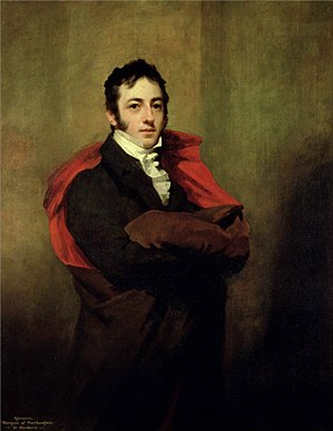 Compton Wynyates - The second Marquess of Northampton who saved the house from dereliction in 1835.