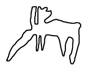 Russian geoglyph
