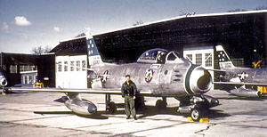 330th Fighter-Interceptor Squadron North American F-86F-25-NH Sabre 51-13383.jpg