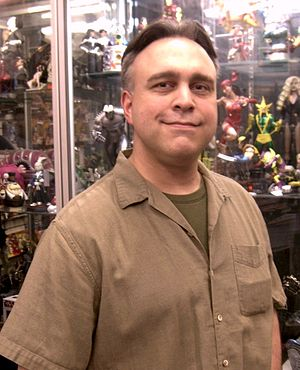 David Alan Mack - Mack at Forbidden Planet in Manhattan, April 22, 2010