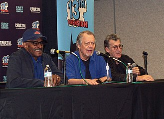 Starsky & Hutch - Panel discussion featuring Antonio Fargas, David Soul and Paul Michael Glaser at the 2018 East Coast Comicon in New Jersey