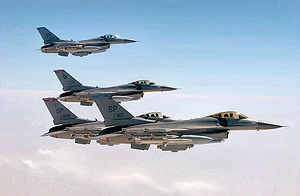 409th Air Expeditionary Group - Image: 409aeg f 16falcons