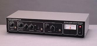Lock-in amplifier - Analogue lock-in amplifier from Scitec Instruments