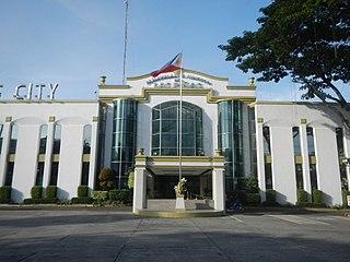 Las Piñas City in Metro Manila, Philippines