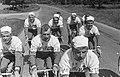 51ste Tour de France 1964 Televizierploeg tijdens training, Bestanddeelnr 916-5804.jpg