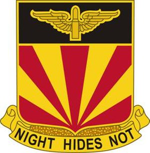 56th Air Defense Artillery Regiment - Image: 56ADARegt DUI