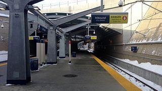 railway station in Calgary, Canada