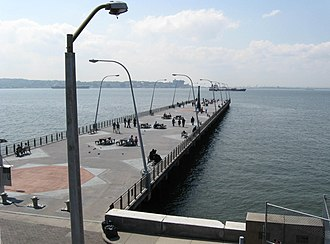 Staten Island Ferry - Former pier for 69th Street ferry service