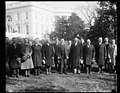 7th Division officers meet President Coolidge. The officers who commanded the 7th Division during the World War are now holding their annual reunion in Washington. They were received at the LCCN2016888539.jpg