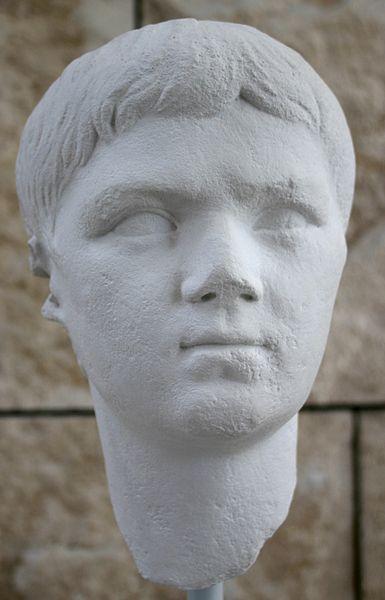 Archivo:8091 - Roma - Ara Pacis - Lucio Cesare - Foto Giovanni Dall'Orto - 28-Mar-2008.jpg