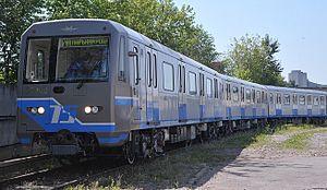 """81-760/761 - 81-760/761 """"Oka"""" at the depot"""