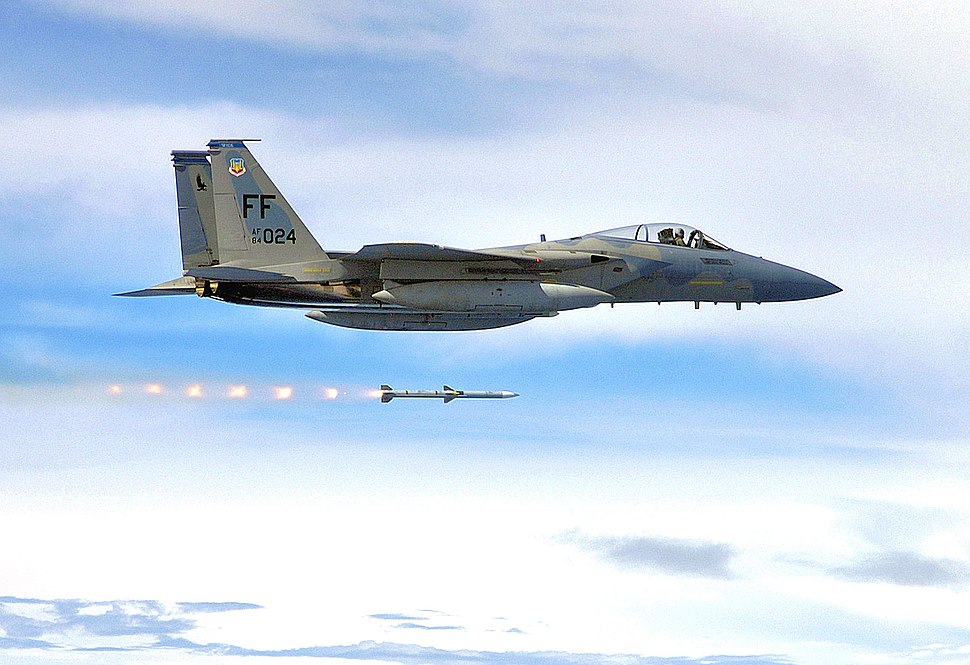94th Fighter Squadron - F-15 - Langley