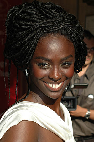 Aïssa Maïga - Aïssa Maïga at the 2007 Cannes Film Festival