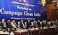 A.P.J. Abdul Kalam, the Union Tourism Minister, Shri Subodh Kant Sahai, the Union Minister for Railways, Shri Dinesh Trivedi, the Minister of State for Tourism, Shri Sultan Ahmed and other dignitaries.jpg