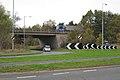 A429 joins A46 near Gaveston's Cross north of Warwick - geograph.org.uk - 1572174.jpg
