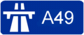 A49 (France) Route marker.png
