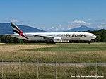 A6-ENE Boeing B777-31HER B77W - UAE (21186993665).jpg