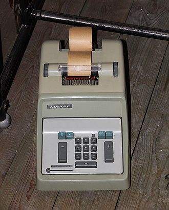 AB Addo - Addo-X Adding Machine