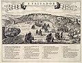 AMH-6700-KB Gezicht op de slag om stad San Salvador in de Allerheiligenbaai tussen Nederlanders en Portugezen in 1624.jpg
