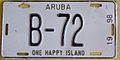 ARUBA 1998 -BUS LICENSE PLATE - Flickr - woody1778a.jpg