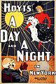 A Day and a Night in New York, performing arts poster, 1898.jpg