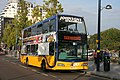 A Johnson's Excelbus in Moor Street, Birmingham, on route X20 to Stratford-on-Avon (Scania N230UD).jpg
