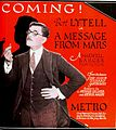 A Message from Mars (1921) - Ad 2.jpg