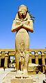 A Statue in Karnak Temple , Luxor.JPG